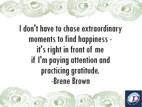 It Begins With Gratitude